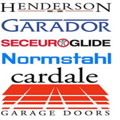garador henderson normstahl and cardale garage doors preston